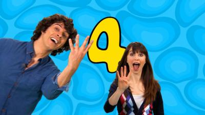 CBeebies House - Number Rap 4