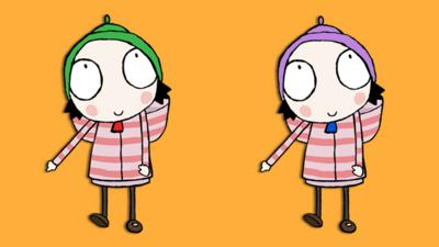 Sarah and Duck - Spot the difference