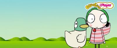 sarah and duck cbeebies bbc