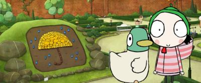 Sarah and Duck and the Parasol Show