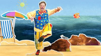 Something Special - Join Mr Tumble at the Beach in the CBeebies Storytime app