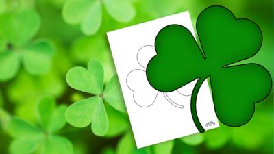 Let's Celebrate - St Patrick's Day Shamrock