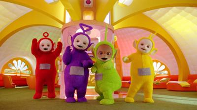 Teletubbies - Tour Teletubbies Home Dome