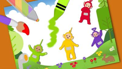 Teletubbies - Teletubbies Make a Picture