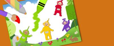 Teletubbies Make a Picture