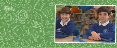Topsy and Tim in school