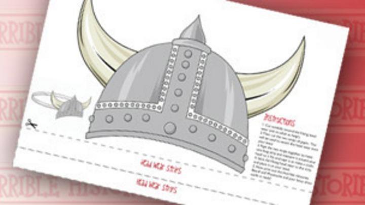 Horrible Histories Viking Headwear Cbbc Bbc