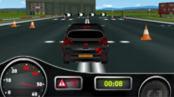 Cbbc games celebrity driving academy