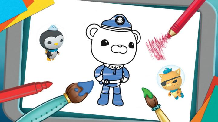 octonauts coloring pages bbc - photo#21