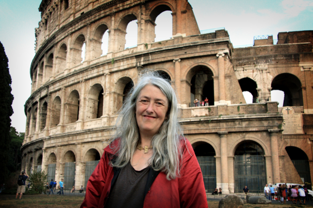 Mary Beard. Photographer: Caterina Turroni
