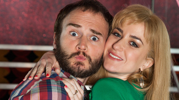 Oliver Lansley and Katherine Kelly in The Best Possible Taste