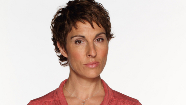 Tamsin Greig (photo credit: Hat Trick/BBC/Jack Barnes)
