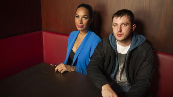 Leona Lewis and Plan B. Photographer: Ray Burmiston