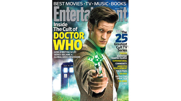 Doctor Who in Entertainment Weekly