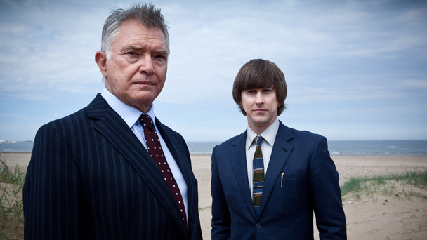 Martin Shaw and Lee Ingleby in Inspector George Gently