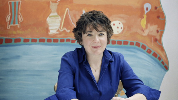 Jane Garvey. Photographer: ABIGAIL ZOE MARTIN