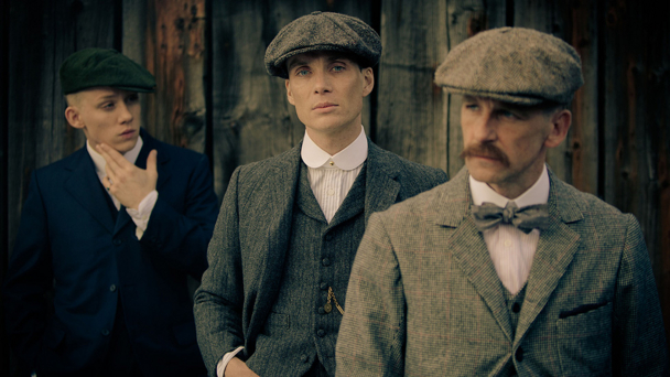 l-r: Joe Cole, Cillian Murphy and Paul Anderson (pic credit: Robert Viglasky)