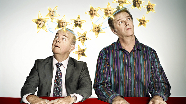 Ian Hislop and Paul Merton