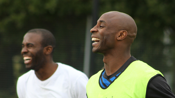 Fabrice Muamba and Jason Roberts