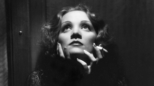 1932 Marlene Dietrich (image: The Kobal Collection/BBC/Don English)