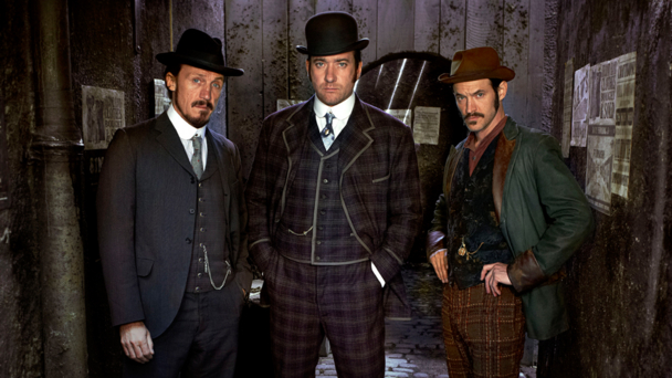 Jerome Flynn, Matthew MacFadyen and Adam Rothenberg