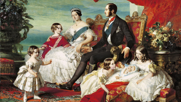 Queen Victoria's Children (credit BBC/Blakeway/2011 Her Majesty Queen Elizabeth II / The Bridgeman Art Library)
