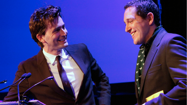 David Tennant and Bertie Carvel