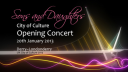 New acts added to line-up for Sons And Daughters Concert