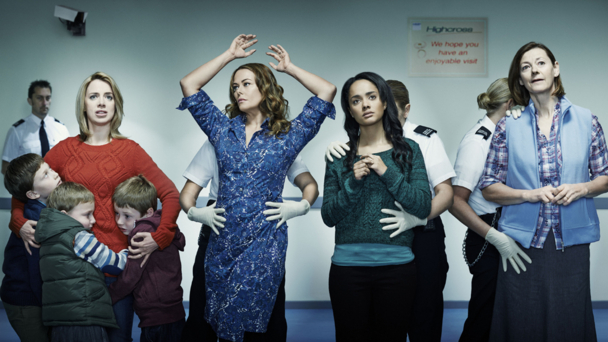 Sally Carman, Polly Walker, Karla Crome and Pippa Haywood (BBC/Tiger Aspect)