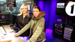 B.Traits fills in for Annie Mac on Radio 1