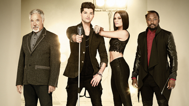Tom Jones, Danny O'Donoghue, Jessie J, Will.i.am (credit BBC/Wall to Wall/David Venni)