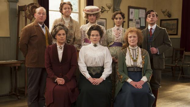 Les suffragettes dans la littérature, à la télévision et au cinéma 624