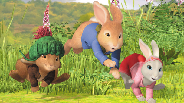 bbc peter rabbit media centre