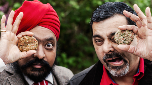 Tony Singh and Cyrus Todiwala (Photography by Haarala Hamilton (c) Woodlands Books Ltd 2013)