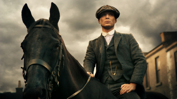 Cillian Murphy as Tommy Shelby in Peaky Blinders (credit BBC/Tiger Aspect/Robert Viglasky)