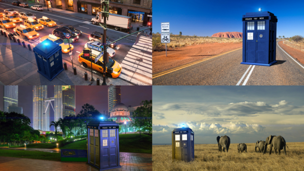 Tardis Around the World