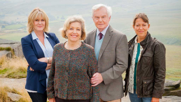 Sarah Lancashire, Anne Reid, Derek Jacobi and Nicola Walker (Credit: BBC/Anthony and Cleopatra Series/Ben Blackall)