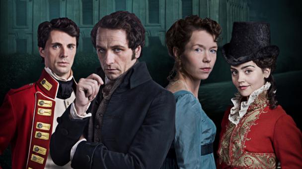 Matthew Goode, Matthew Rhys, Anna Maxwell-Martin and Jenna Coleman (credit: BBC/Origin)