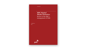 Review of the BBC's management of DMI