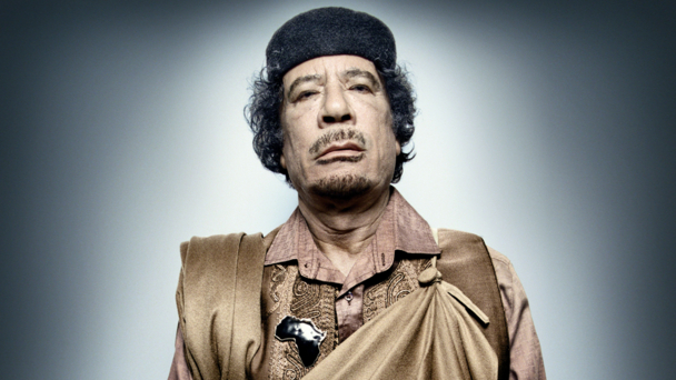 Gaddafi (credit BBC/Platon/Trunk Archive)