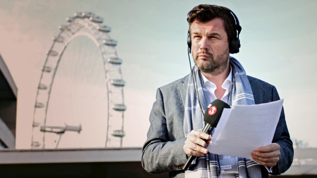 Petroc Trelawny presents the Breakfast show, live from the Southbank