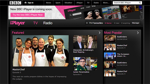 iPlayer screengrab
