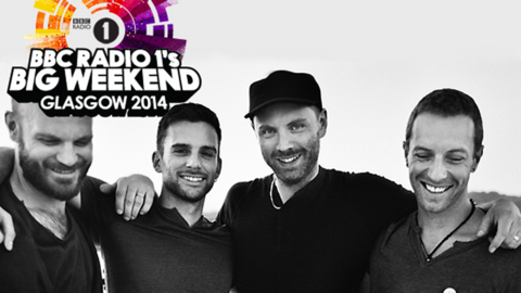 Coldplay to headline Radio 1's Big Weekend 2014