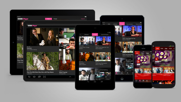 BBC iPlayer update for Android & IOS