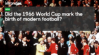 Using archive to create the BBC iWonder guide around the 1966 Football World Cup