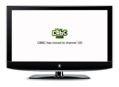 Freeview Children's and News channels move