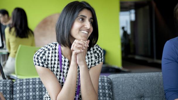 ACE Shabana Kausar smiling