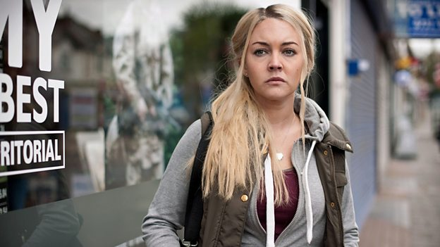 Lacey Turner (Molly Dawes) in Our Girl