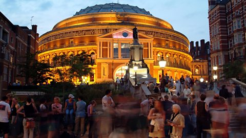 The role of BBC Archives in putting on the Proms