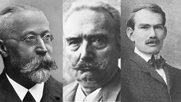 Karl Braun, Paul Nipkow and Lee DeForest - 624